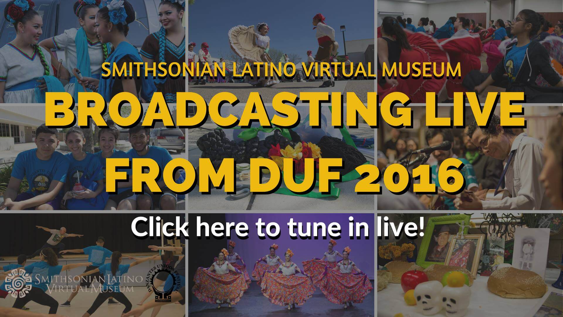 Smithsonian Latino Virtual Museum DUF 2016